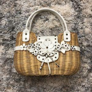 Aldo Straw Basket Bag